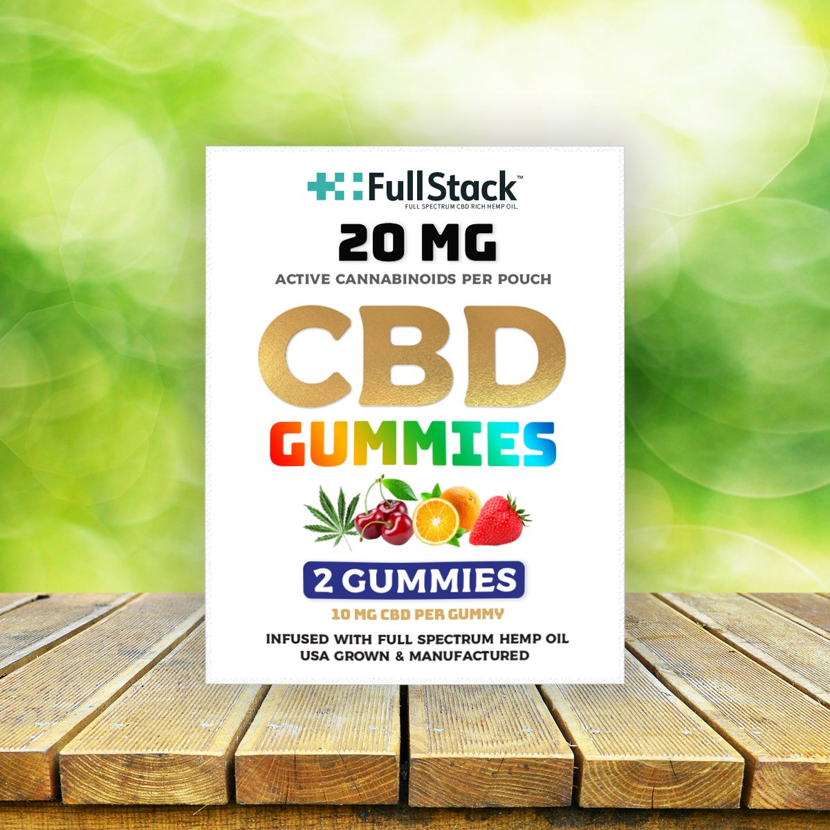 fullstack cbd gummies 2 pack 20mg