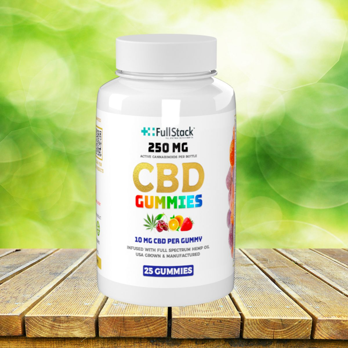 fullstack cbd gummies 25ct